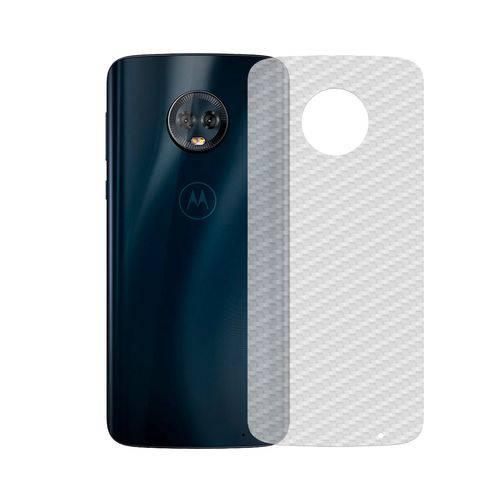 Película de Carbono Traseira Motorola G6 Plus