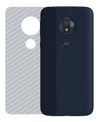 Película de Carbono Traseira Motorola G7 Play