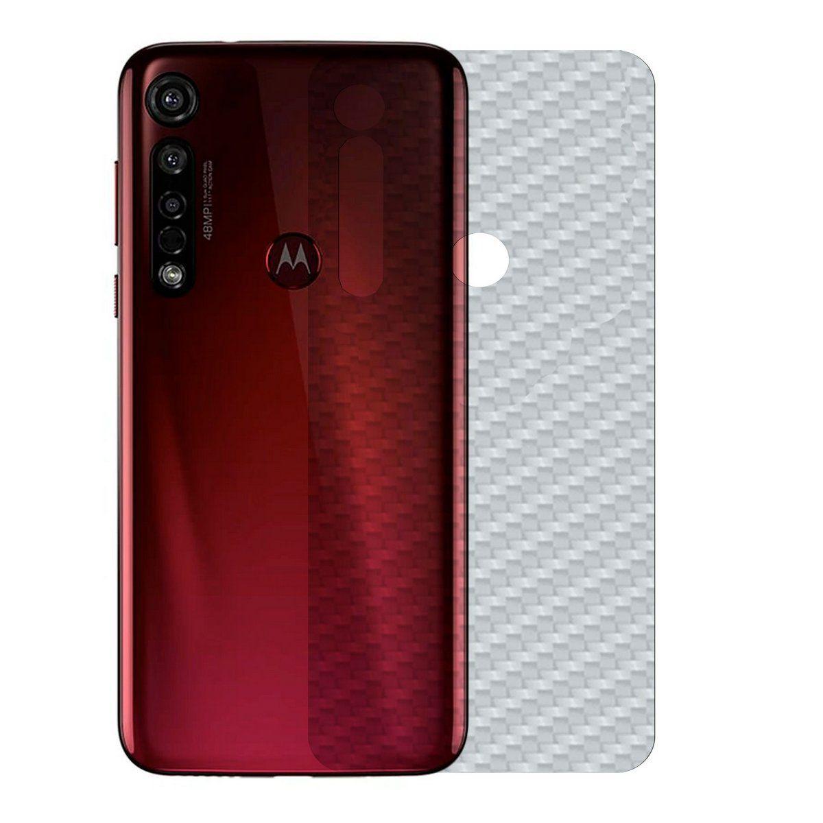 Película de Carbono Traseira Motorola G8 Plus