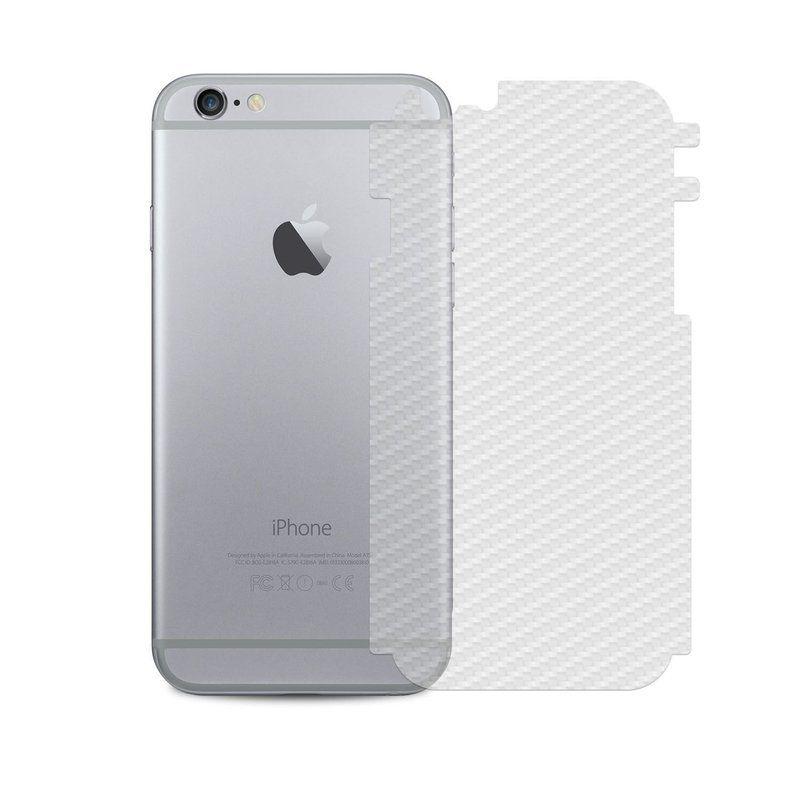 Pelicula Iphone 6s Plus Carbono Traseira