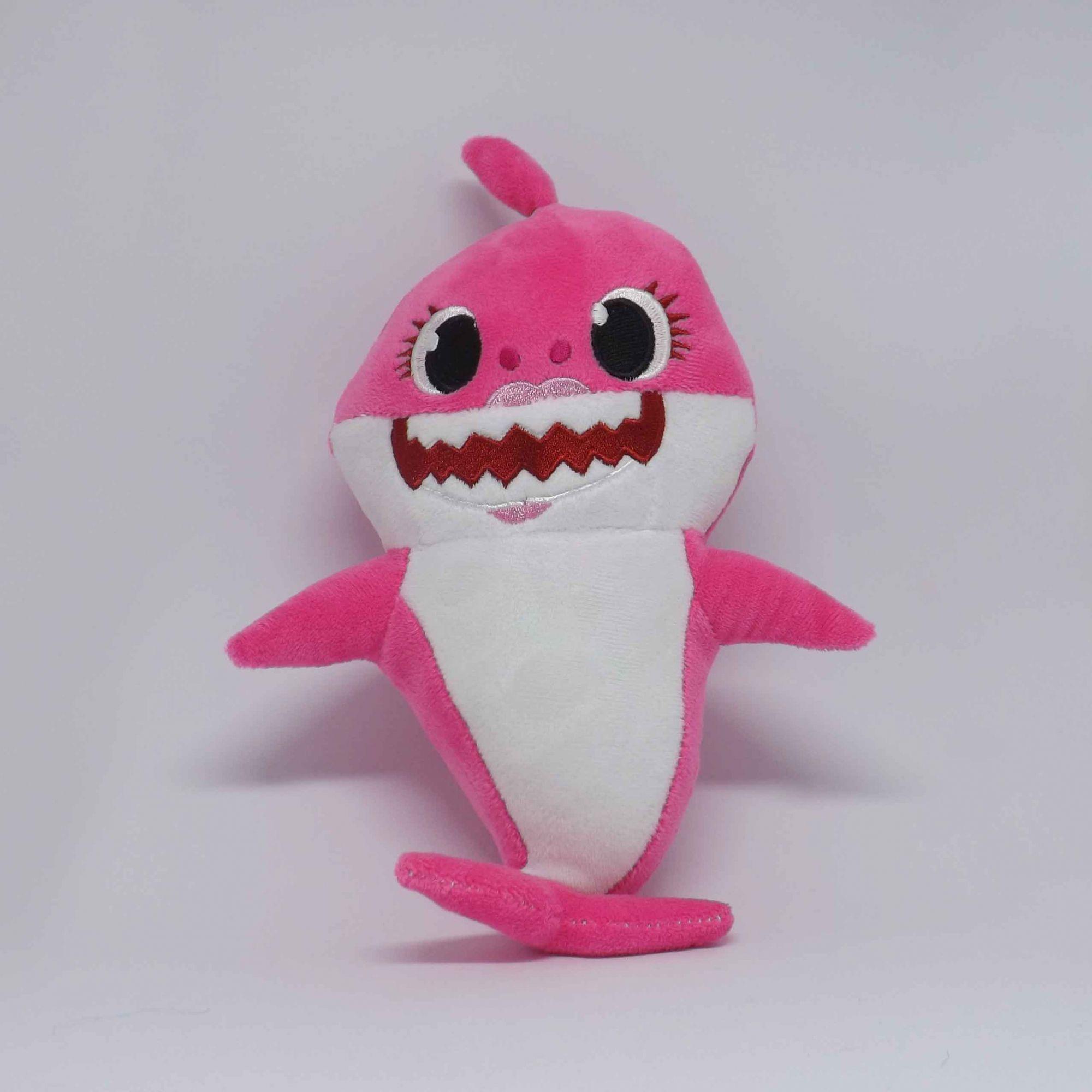 Pelúcia Baby Shark - Mamãe Tubarão