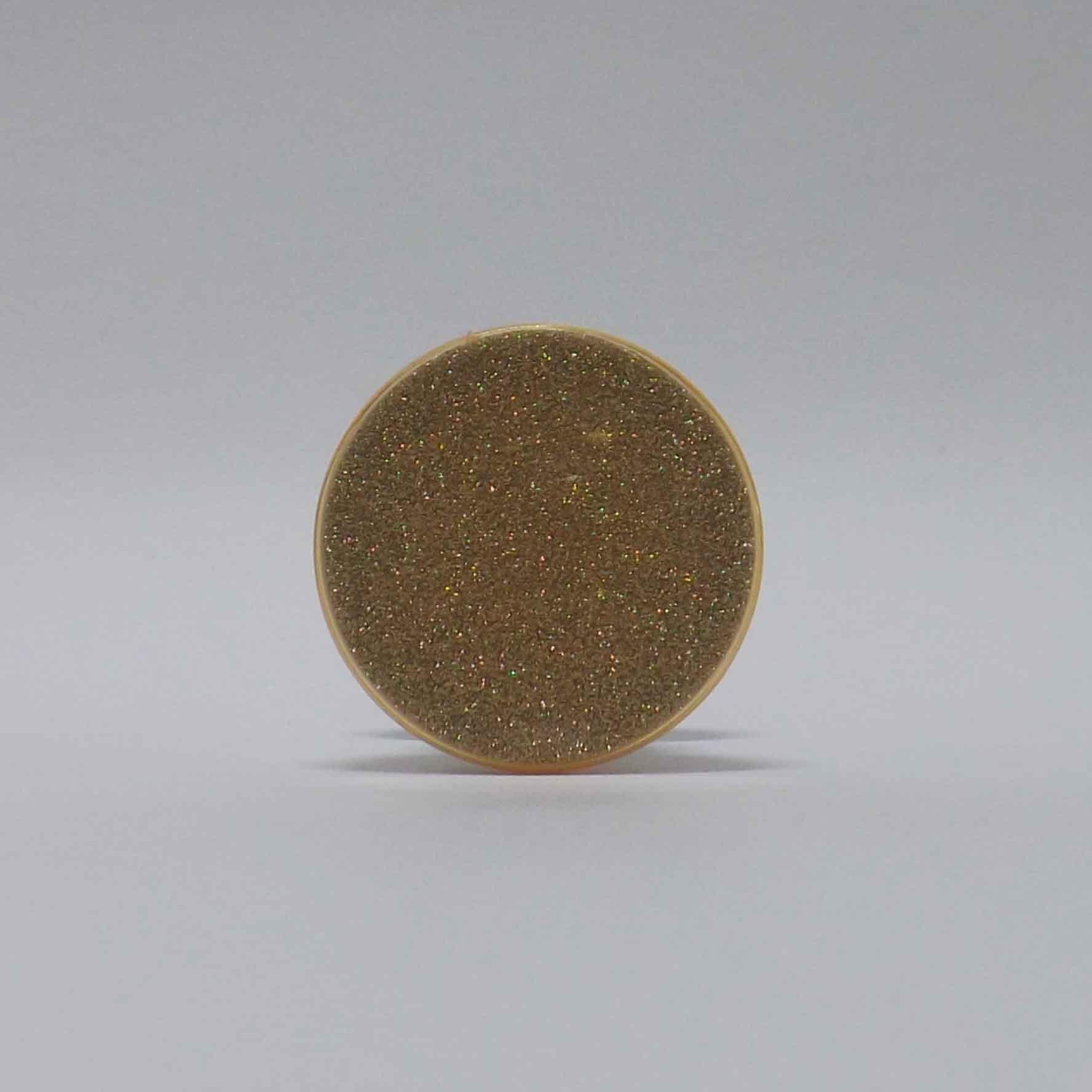 Pop Case Brilho Dourado