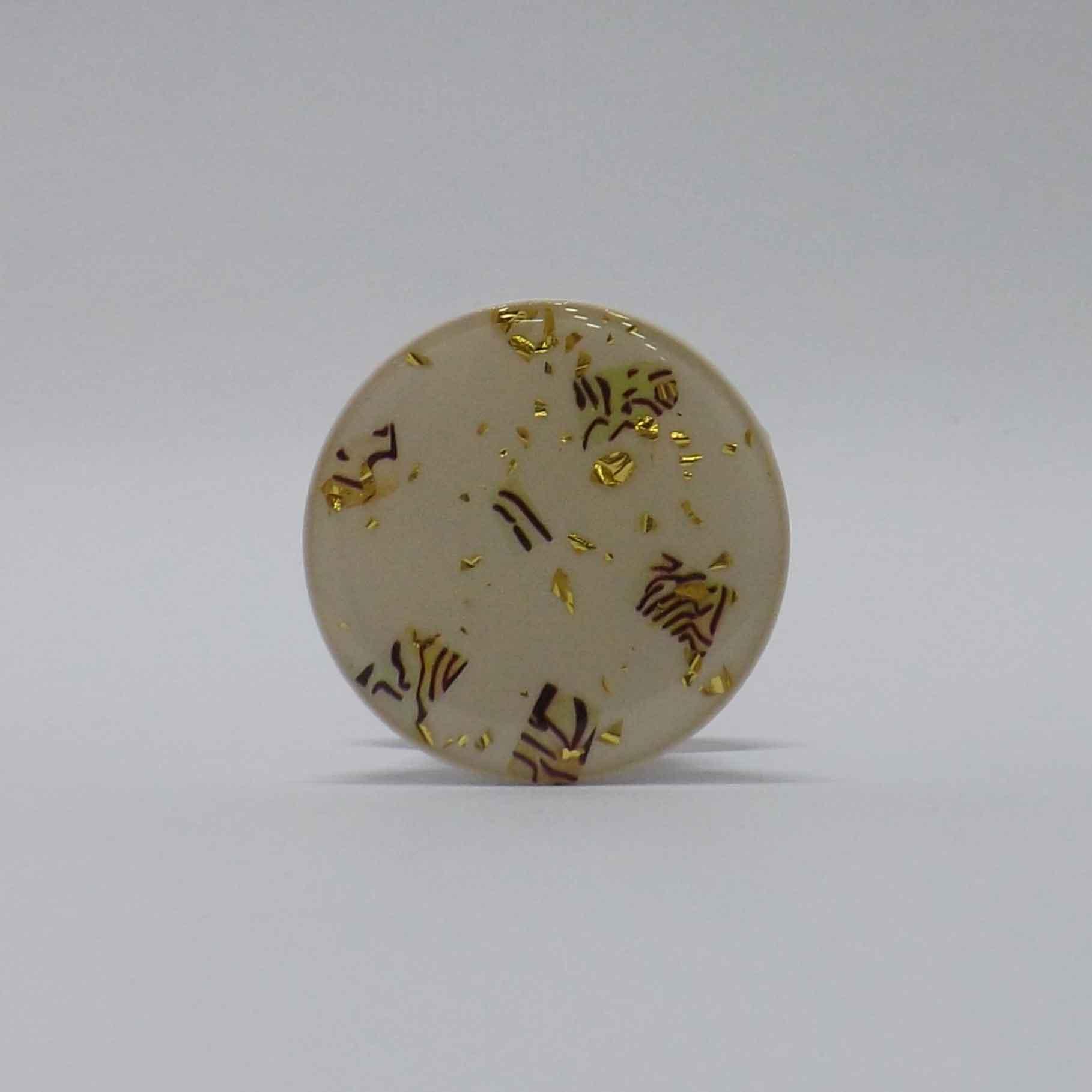 Pop Case Brilho Fragmentos - Dourado