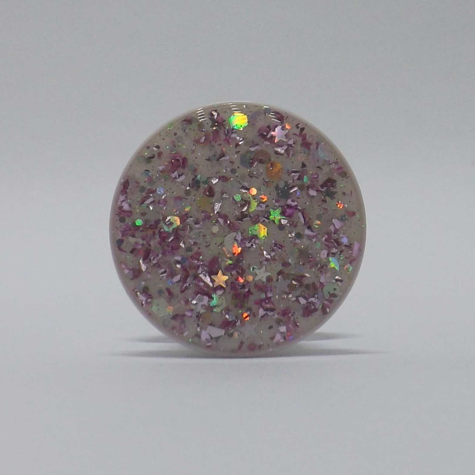 Pop Case Glitter Lilás