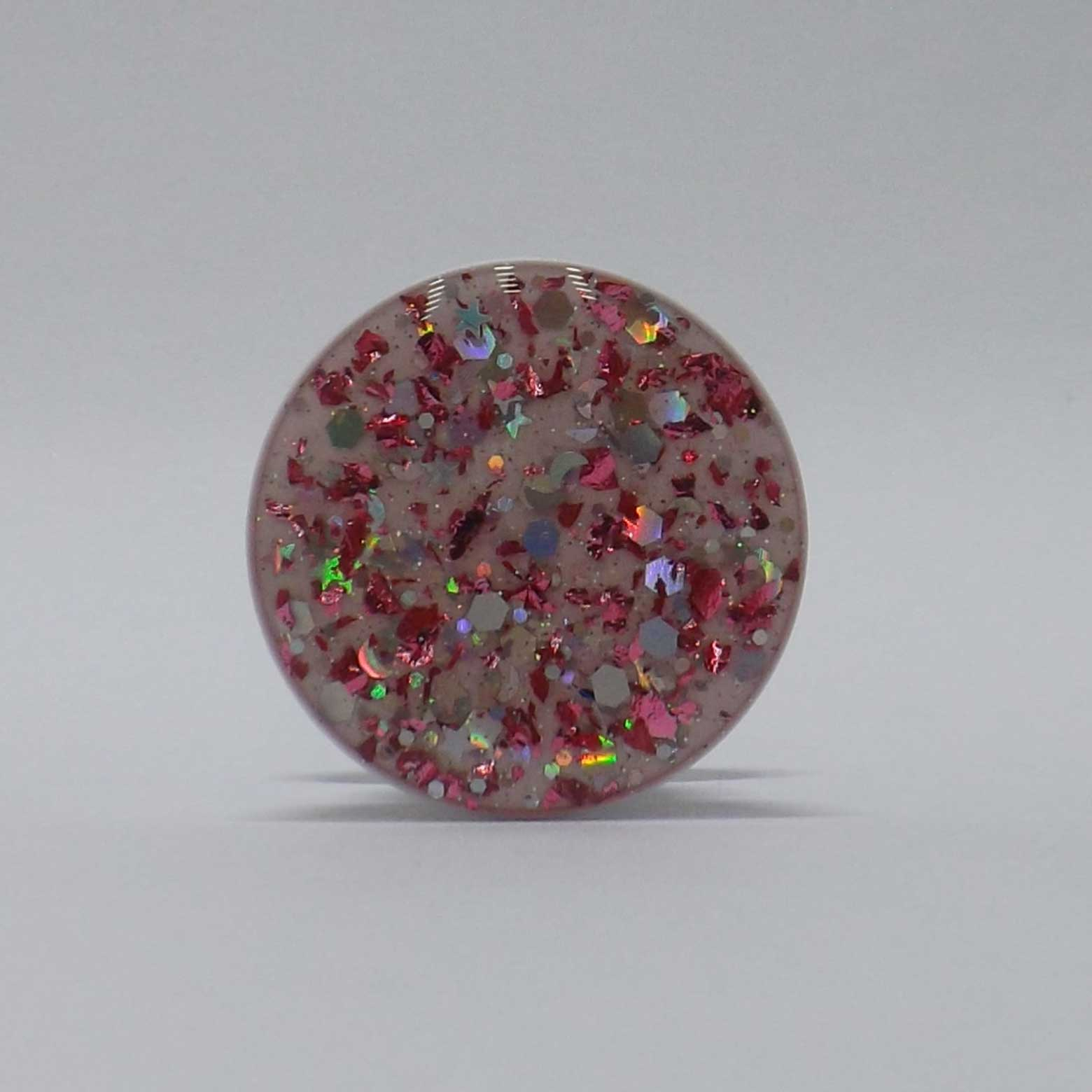 Pop Case Glitter Rosa
