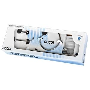 Kit Acessórios De Banheiro Single Docol 00183106