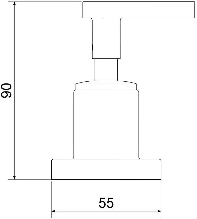 Acabamento Athena Slim C35 Base Deca 26478 Meber