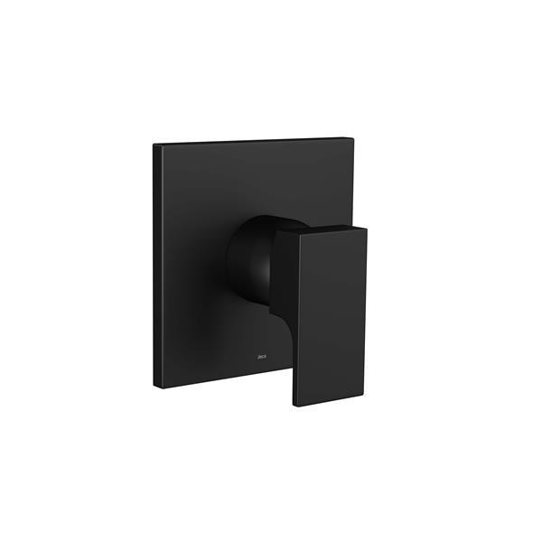 Acabamento Monocomando Chveiro Unic Black Matte 4993.BL90.CHU.MT