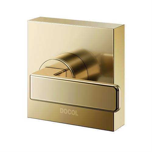 Acabamento Para Registro Base Docol Nova Stillo Ouro Polido 00823943