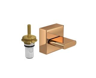 Acabamento Para Registro de Pressão Polo Red Gold 4916.GL33.PQ.RD