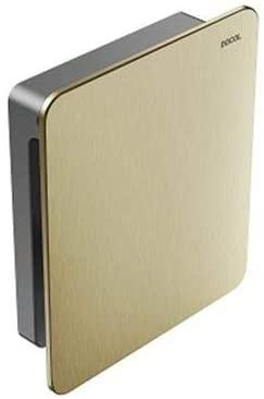 Acabamento para Válvula de Descarga Flat Ouro Escovado 00931772