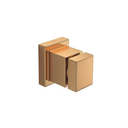 Acabamento Regsitro Gaveta Cubo Gold Matte 4900.GL86.PQ.MT