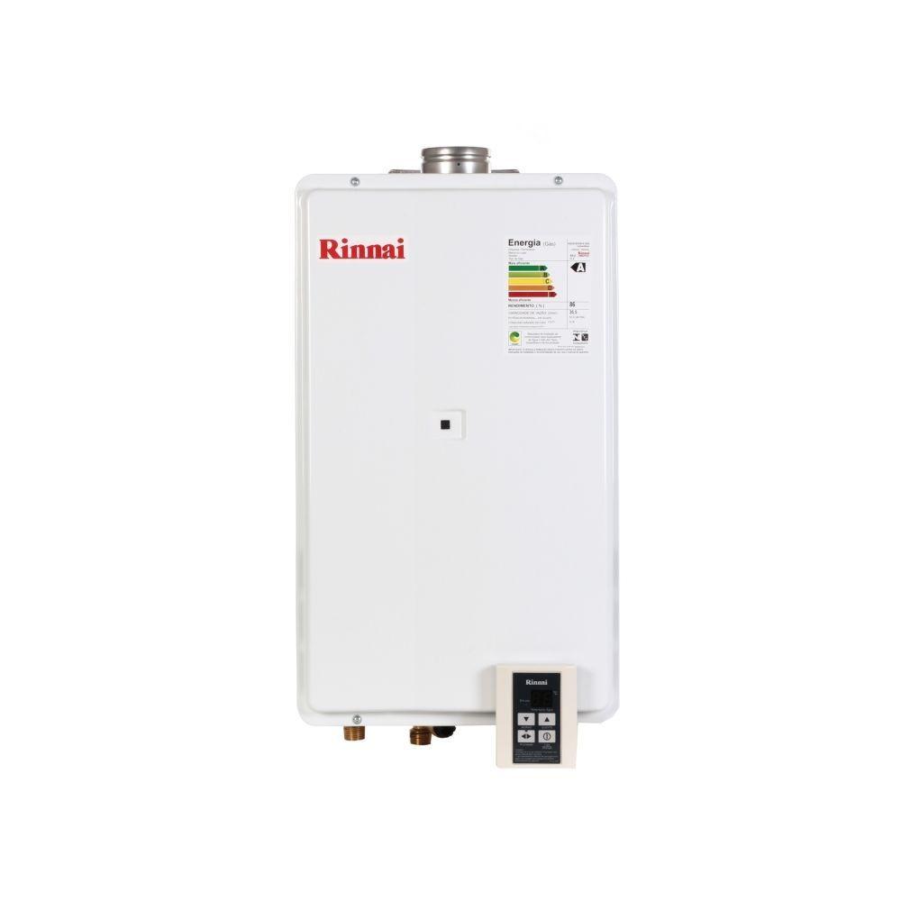 Aquecedor de Água a Gás REU 2802 GN 35 Litros Branco Bivolt