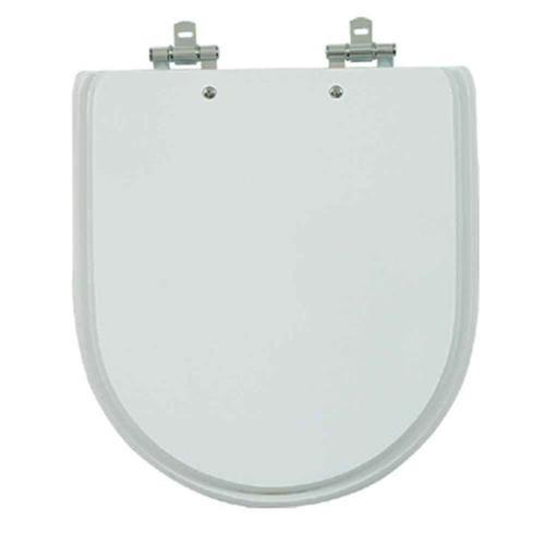 Assento Carrara Poliéster Branco\Gelo
