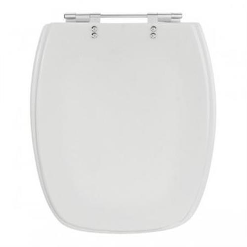 Assento Stylus Poliéster Cr/branco