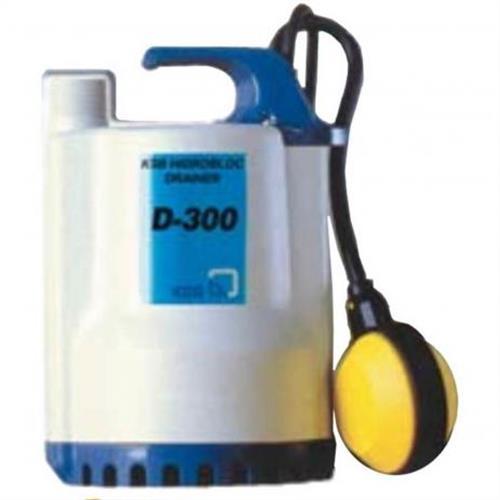 Bomba Submersível Ksb Hydrobloc Drainer D300 0,33 Cv Monofásica 220V