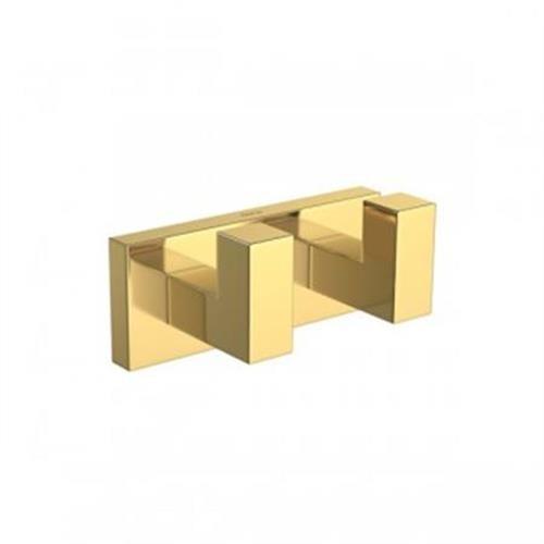 Cabide Quadratta 2062 Gl83 Gold Duplo