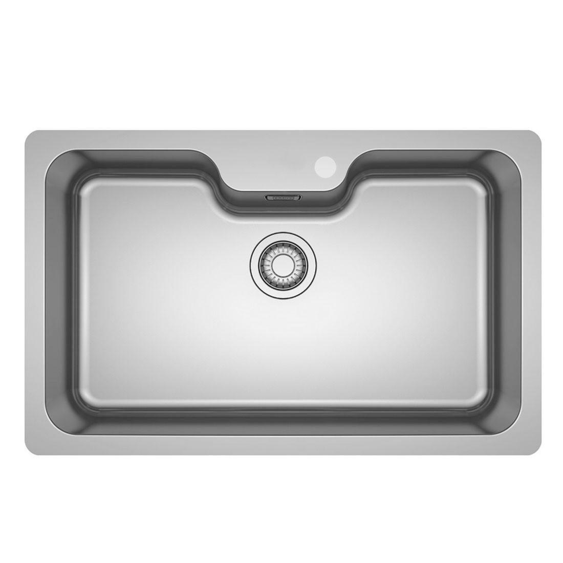 Cuba para Cozinha Embutir Bell Inox Franke 810x510mm 15187