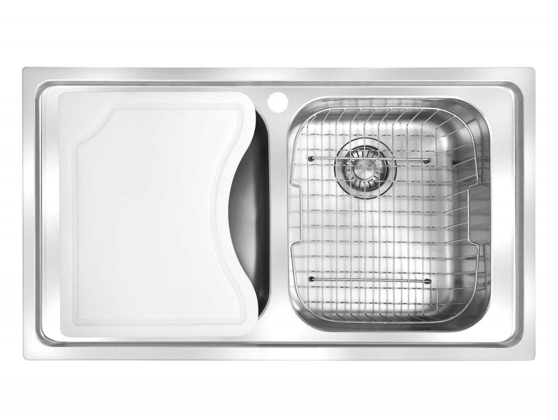 Cuba para Cozinha Smart SRX 620 860X500 com Acessórios Franke 14868