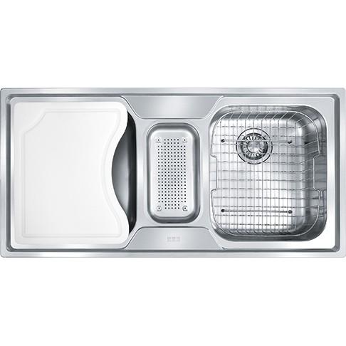 Cuba para CozinhaTripla Com Acessórios SMART SRX670 Franke 14872