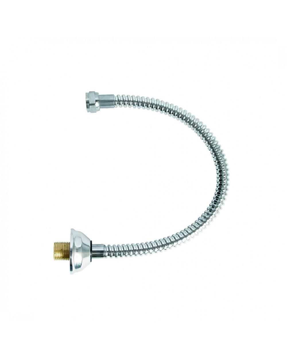 Engate Flexível 1/2X180Cm Água Fria Cromado Esteves VLL470CWG