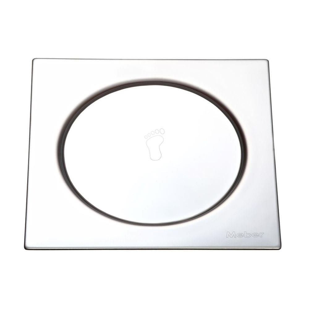 Grelha Inox 15x15 Quadrada com Fecho de Pressão 2668.1