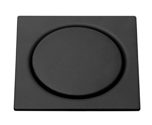 Grelha Inox Quadrada Com Fecho De Pressão Black Matt 15X15