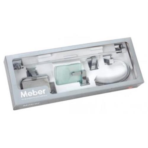 Kit Acessórios De Banheiro Athena 501.C34 Meber