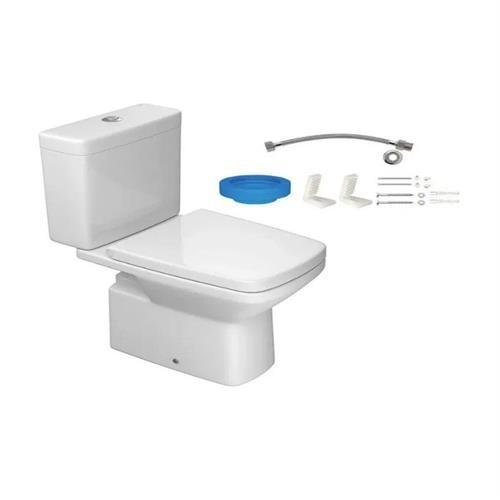 Kit Completo Bacia Com Caixa Acoplada Clean Deca KP.460.17
