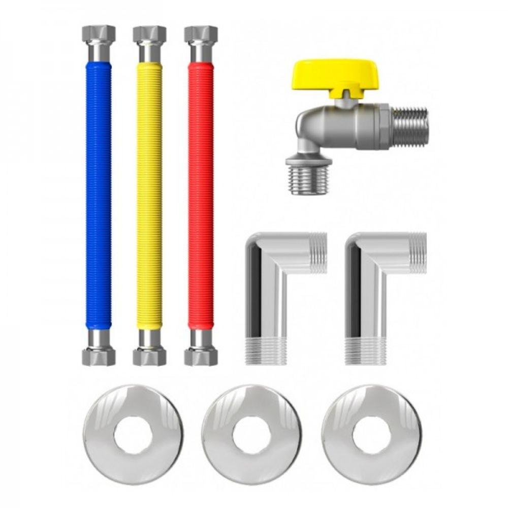 Kit Completo de Instalação de Aquecedor a Gás Censi 1/2 7560