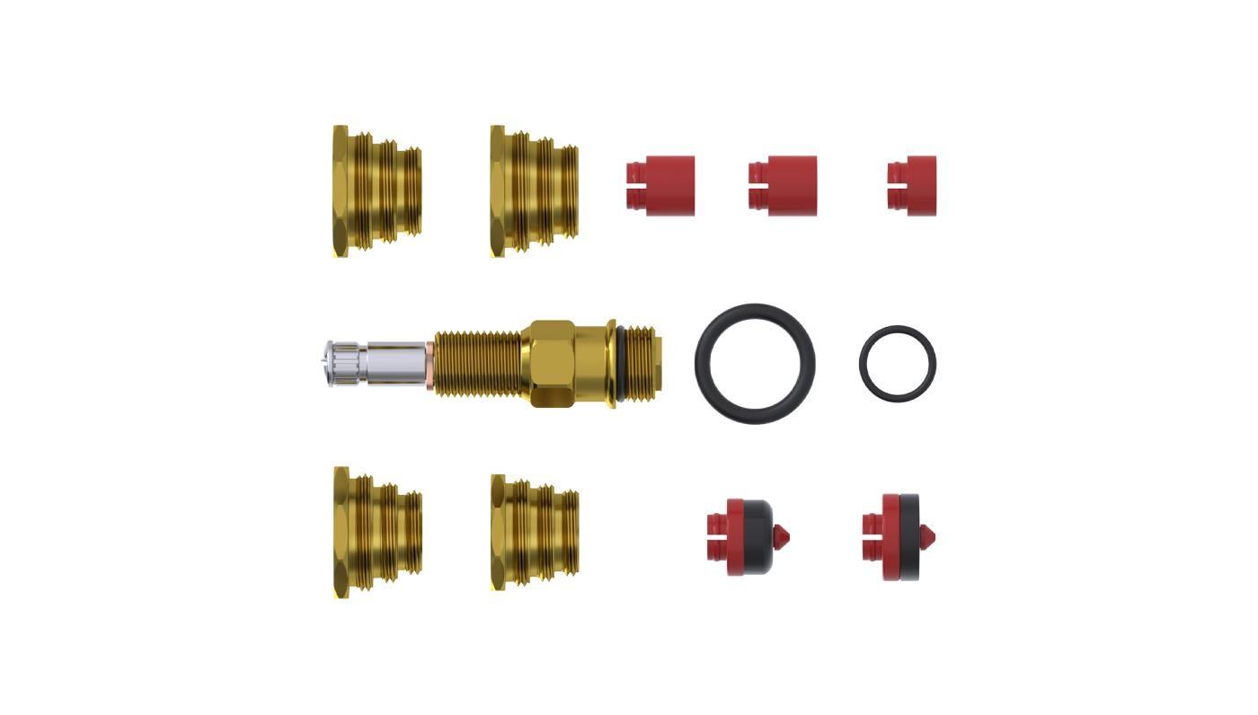 Kit Completo de Reparos para Registros Deca Censi 30051