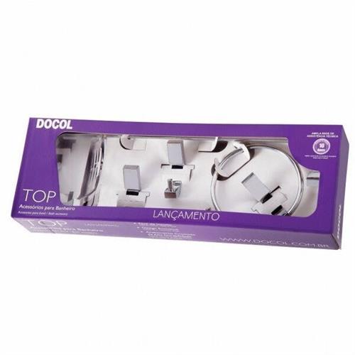 Kit De Acessórios Para Banheiro Top Docol 00552906