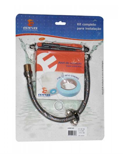 Kit De Instalação Para Bacia De Caixa Acoplada Esteves VAD887CWS