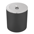 Lixeira Tramontina Útil Aço Inox 5 Litros Preta 94540/025