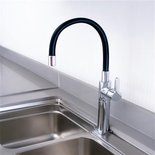 Misturador Monocomando de Mesa Para Cozinha Dom Color Preto 2256.C33 Perflex 10749410
