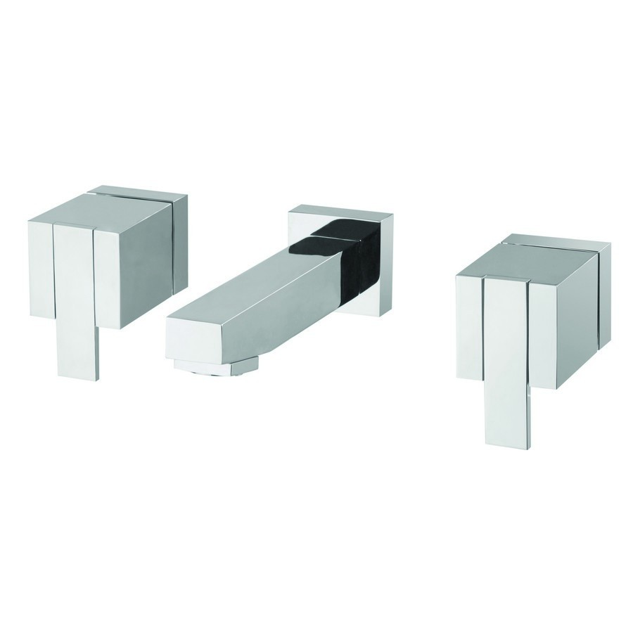 Misturador para Banheiro de Parede Quadra Meber 1881 C215