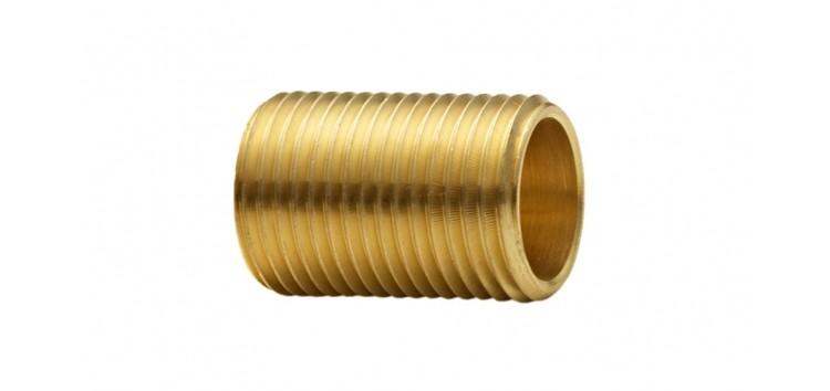 Niple Paralelo 1/2 X 3cm Cromado Blukit 170501