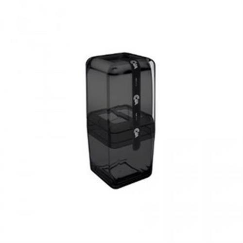 Porta Escova C/tampa Cube Fumê (20877/0449)