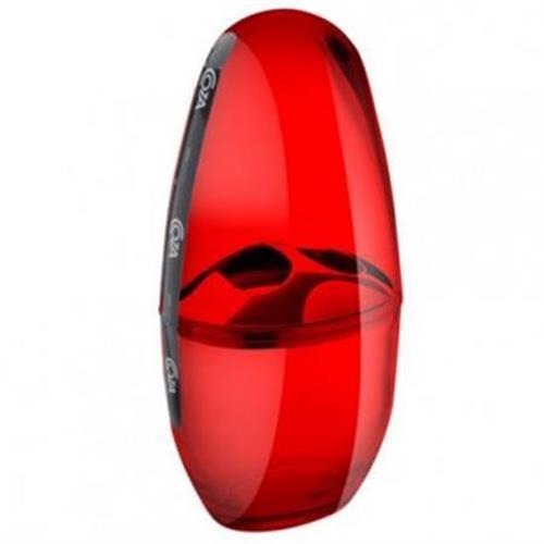 Porta Escova C/tampa Spoom Classic Vermelho 20880/0111