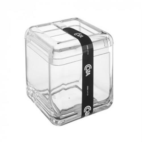 Porta Escova Cube Cristal 20876/0009