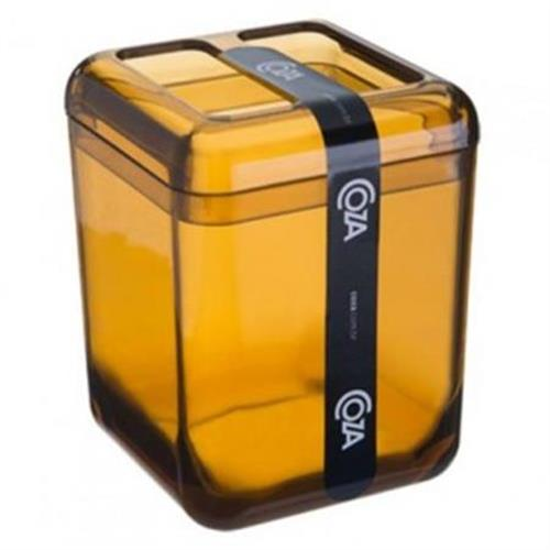 Porta Escova Cube Mel 20876/0456