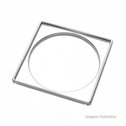 Porta Grelha Quadrada150MM Blukit Inox Metalurg 292101