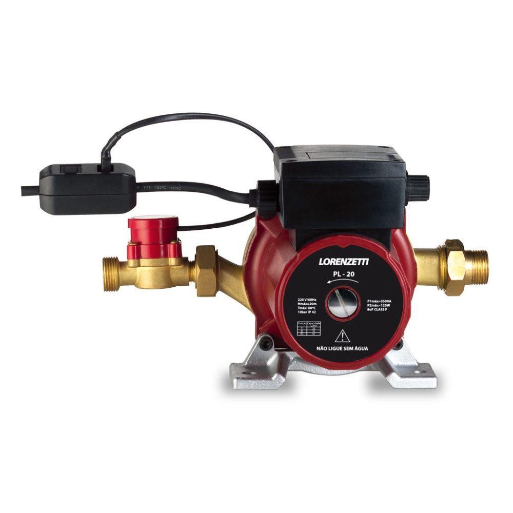 Pressurizador de Água Pl20 20 Mca 220v Lorenzetti 7541017