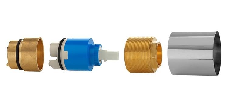 Prolongador Misturador Monocomando Chuveiro Deca Blukit 160132