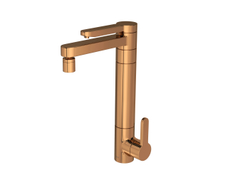 Torneira Cozinha Filtro Twin Red Gold 1140.GL.RD