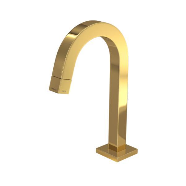 Torneira Lavatório De Mesa Tube Gold 1197.GL.TUB