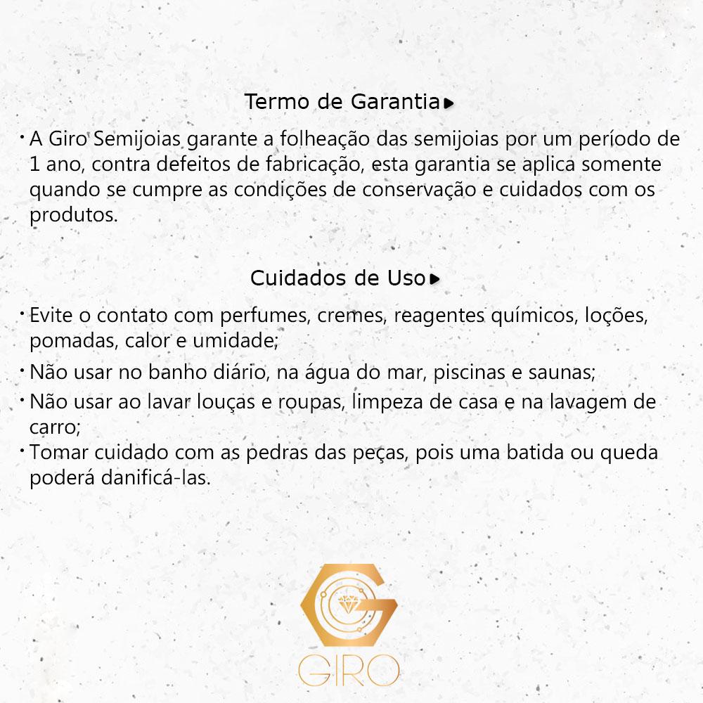 Brinco Argola 3 Círculos Liso e Textura Ouro 18k - Giro Semijoias