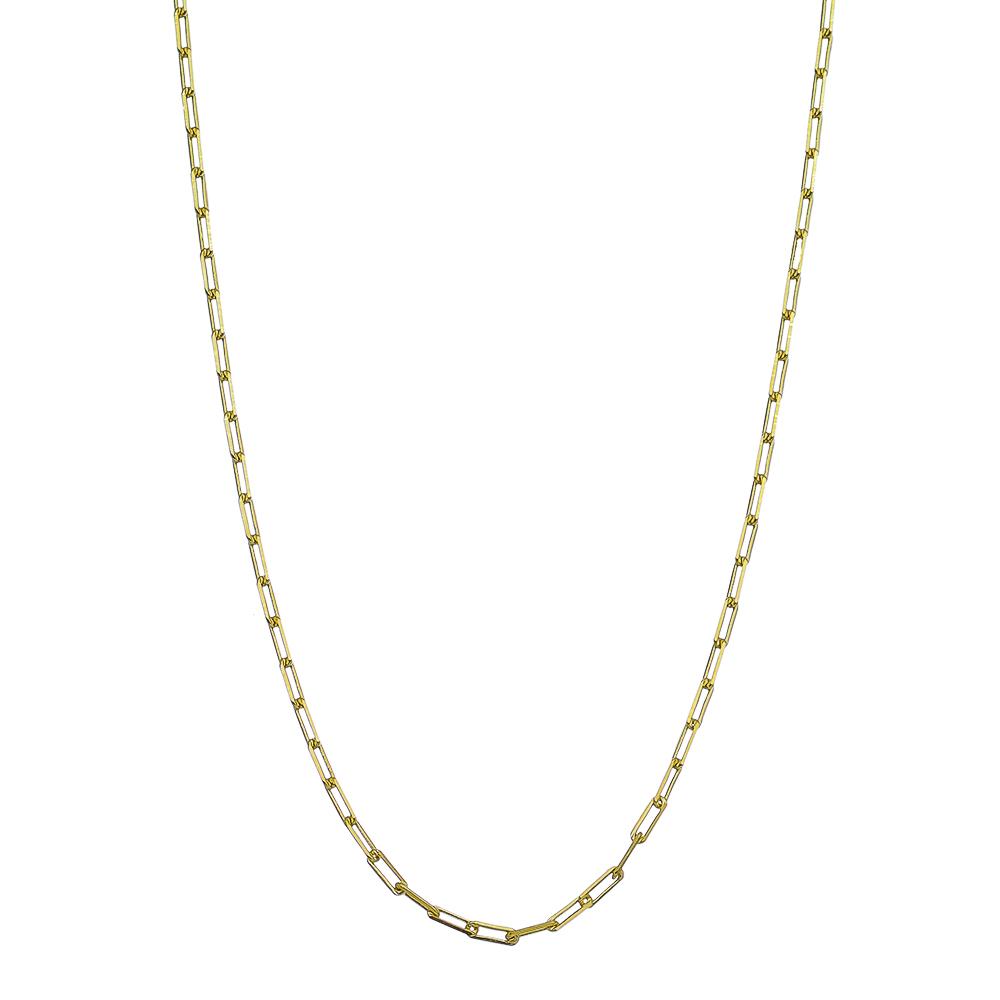 Corrente Alvulsa Cartier Masculina 60cm Ouro 18k