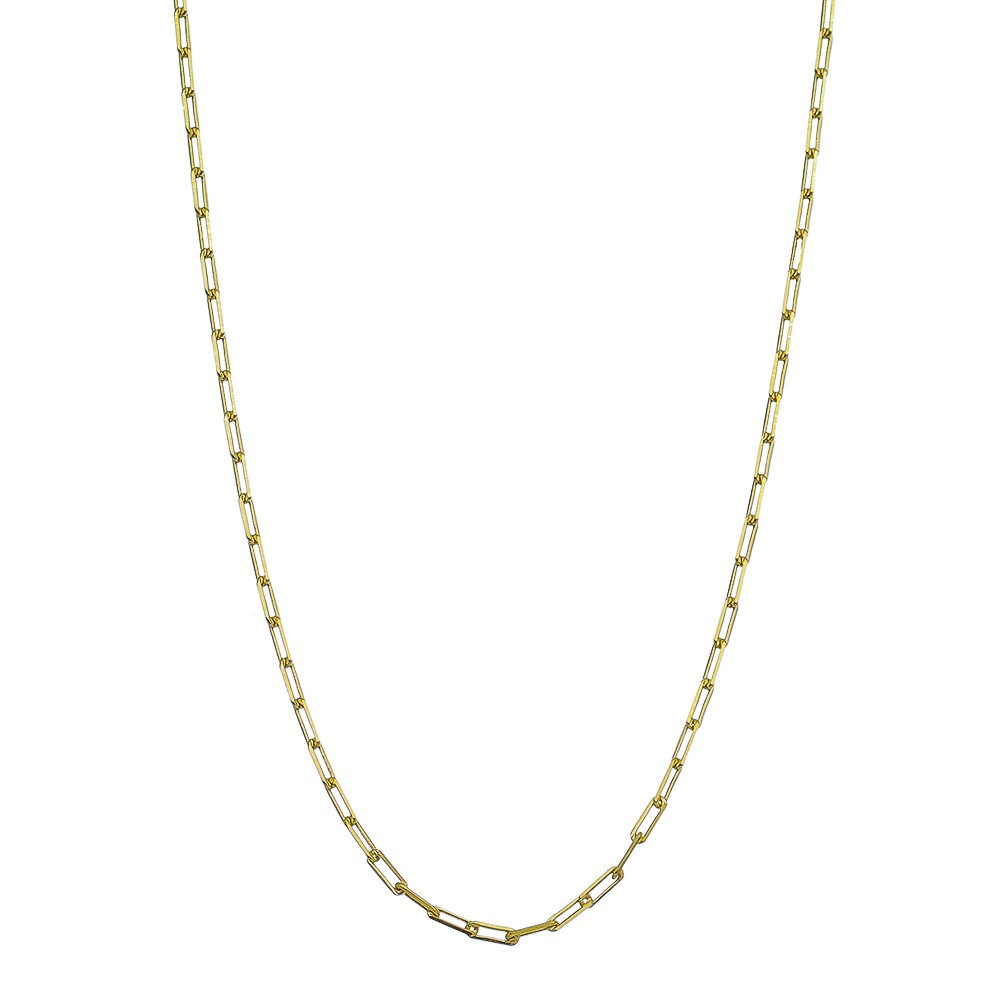 Corrente Alvulsa Cartier Masculina 60cm Ouro 18k- Giro Semijoias