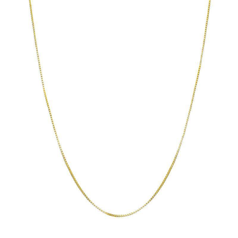 Corrente Avulsa Veneziana 40cm - Banho Ouro 18k